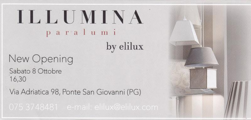 Grande nuova apertura illumina elilux for Nuova apertura grande arredo bari